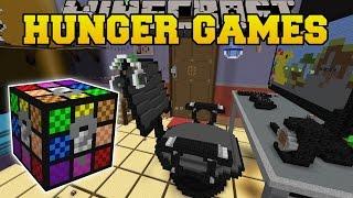 Minecraft: GAMER'S ROOM HUNGER GAMES - Lucky Block Mod - Modded Mini-Game