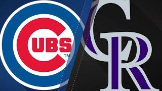 Baez, Schwarber power Cubs to 16-5 win: 4/20/18