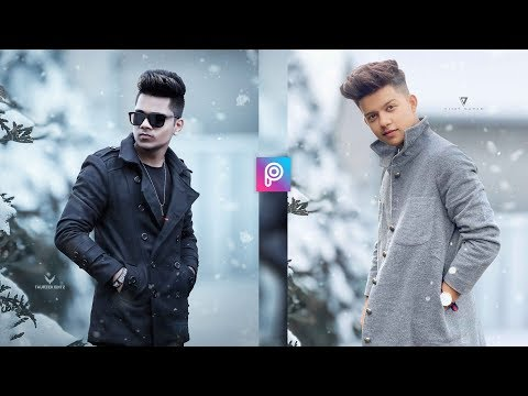 PicsArt Riyaz. 14 Winter Realistic Photo Editing Tutorial in PicsArt Step by Step in Hindi thumbnail