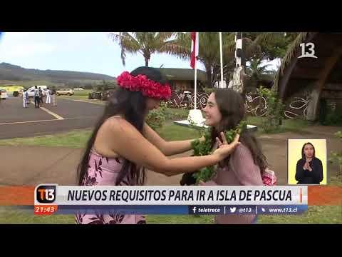 Las nuevos requisitos para visitar Rapa Nui