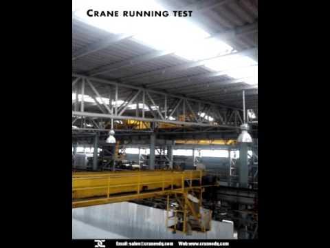 Overhead crane load testing-Steel coil plant overhead crane load testing