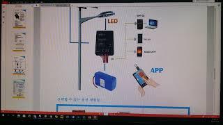 보안등(가로등) 전용 컨트롤러 사양 설명