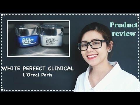Hướng dẫn dưỡng trắng da tại nhà| White Perfect Clinical - L'Oreal Paris