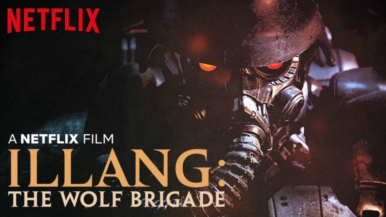 ILLANG: THE WOLF BRIGADE Trailer (2018)