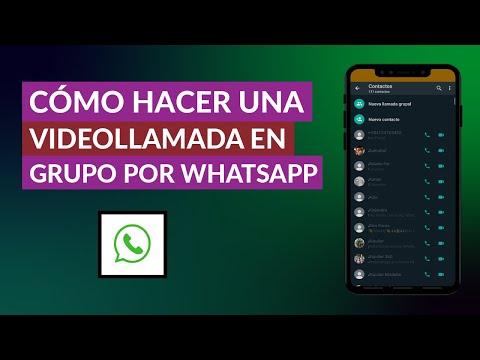 Cómo Hacer una Videollamada Múltiple o en Grupo por WhatsApp