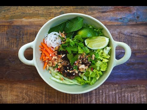 Coconut Lime Grain Noodle Salad