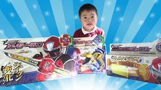 Power Rangers Ninja Steelニンニンジャー おもちゃ DX忍者一番刀/ニンニンバックル/シュリケン Shuriken Sentai Ninninger Toy thumbnail
