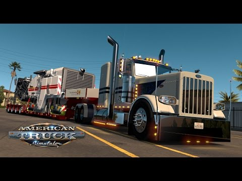 American Truck Simulator - Electric Blue 389 - Road Grinder