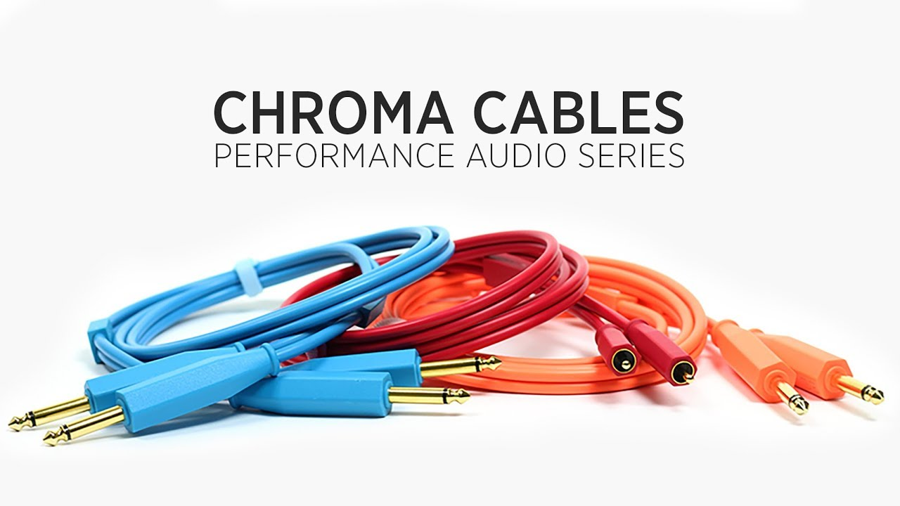 chroma audio cables high quality audio connections for djs producers [ 1280 x 720 Pixel ]