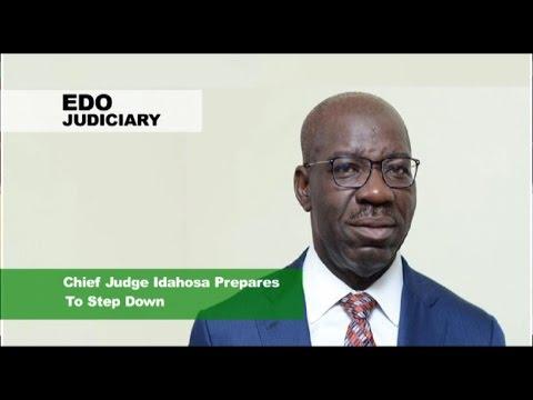 News Across Nigeria: Justice Idahosa Seeks Judges Welfare