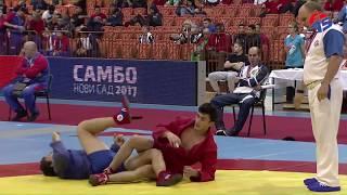 Teymur Allahverdiyev  AZE - Kaisopoulos Dmitrios GRE/World Sambo Championship 2017