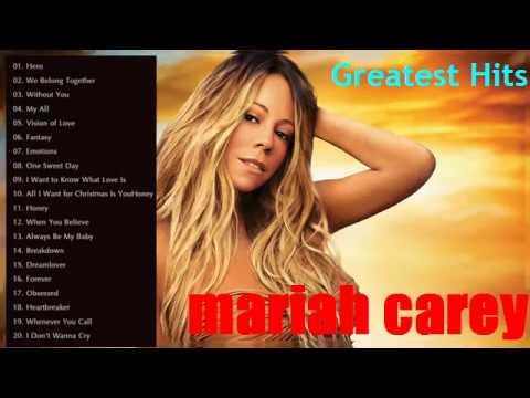 Mariah Carey Greatest Hits_Best Songs Of Mariah Carey Nonstop Playlist[Full album]