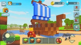 World Craft Building Android Gameplay