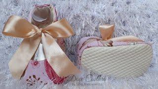 Solado antiderrapante para sapatinhos em tecido