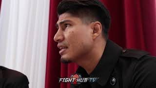 MIKEY GARCIA ON TAKING SPENCE FIGHT