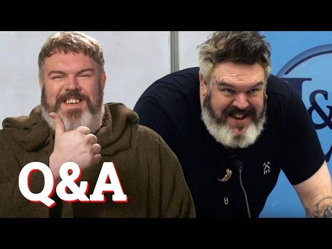 Kristian Nairn aka Hodor from Game of Thrones answers every question ever...