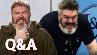 ** show more for questions! missing game of thrones? hodor actor / dj kristian nairn (with guest appearance from isaac hempstead wright bran stark) goes...