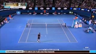 Wawrinka Vs Djokovic Aus Open 2013 1920 x 1080 mp4 Highlights