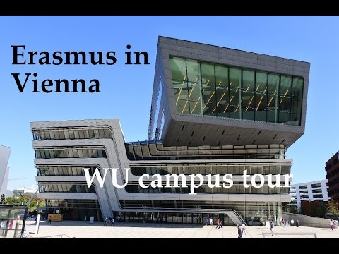 Erasmus in Vienna | WU campus tour
