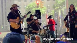 CHRIS STAPLETON 'Second one to Know' @ Today SHOW 07.18.17