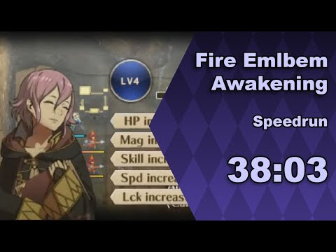 Fire Emblem: Awakening speedrun in 38:03 (live)