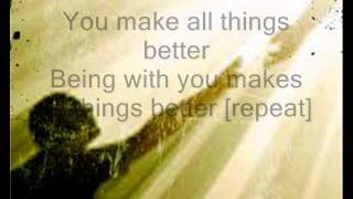 Better by Tye Tribbett (with lyrics)