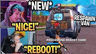 "Streamers USING the *NEW* ""REBOOT RESPAWN VAN"" in Fortnite Gameplay (New Update)"