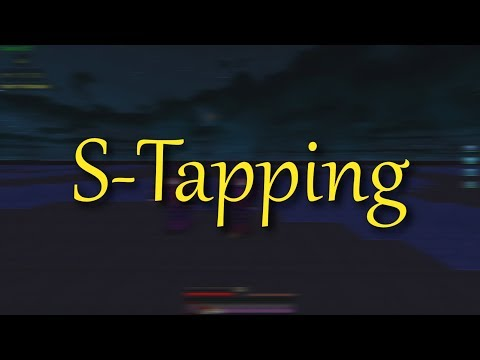 Minecraft PvP - How to Strafe in Minecraft v2 (S-TAPPING)   [2019] [TUTORIAL]