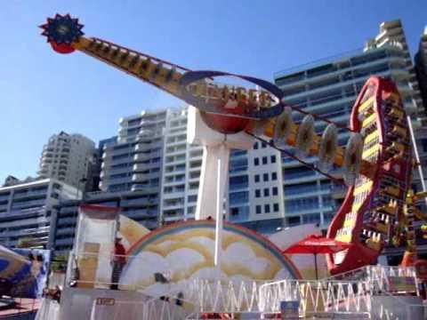 Luna Park Sydney's Huss Ranger - YouTube  Luna