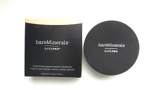 new bareminerals bare pro powder foundation