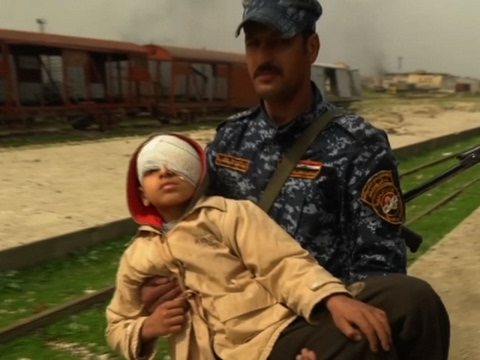 Iraqi Forces Rescue Civilians Trapped in Mosul