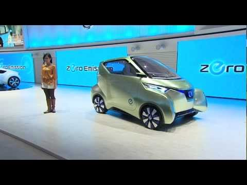 Nissan Pivo 3 Tokyo In Action Youtube