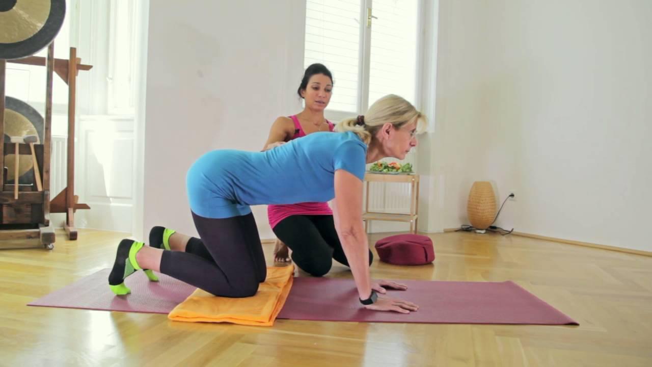katze kuh yoga f r zuhause youtube. Black Bedroom Furniture Sets. Home Design Ideas