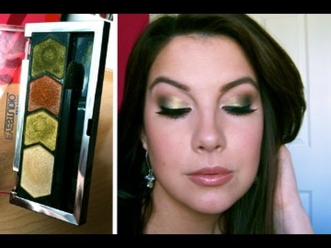 Video Of The Week: Deep Olive and Frosty Green makeup tutorial