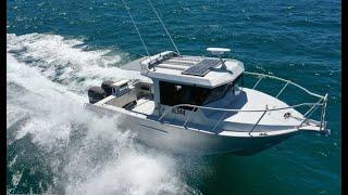 2019 Global Marine Air Rider 7.3m Cabin FOR SALE @ Oceaneer Marine Brokers