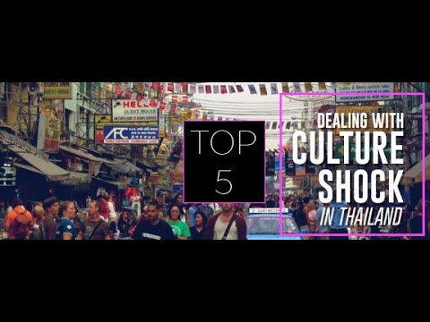 Thailand Culture Shock...TOP 5 CULTURE SHOCKS In THAILAND..ASIA..Getting Stared At In Thailand