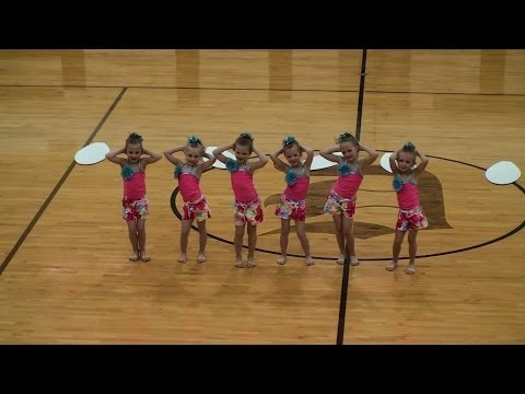 The Dance Factory 2014 Level 1 Jazz - Queen of the Waves (DHS)