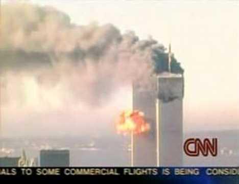 9/11 Second Impact (Flight 175) CNN - YouTube