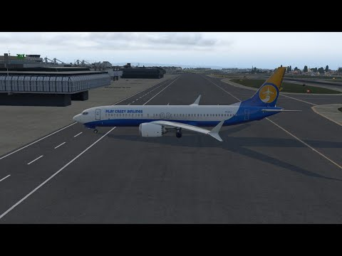 XPlane11    Toulouse-Innsbruck     B737-10 Max #TNT Real Time - Real Weather