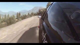 dirt rally gameplay (PC) acropolis greece kathodo leontiu stage