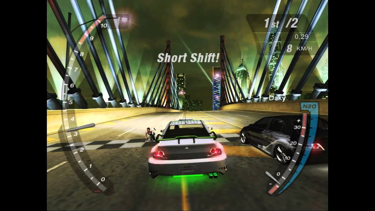Stuck in need for speed underground 2