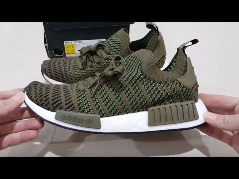 37660bc9e Unboxing ADIDAS ORIGINALS NMD R1 STLT PRIMEKNIT BOOST CQ2389 WORLD ...