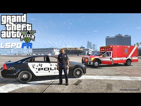 LSPDFR #543 AIRPORT PATROL!! (GTA 5 REAL LIFE POLICE PC MOD) SINGLE PLAYER #600K
