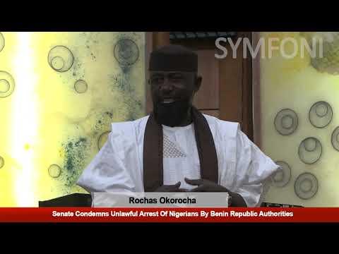 Rochas Leads Debate As Senate Condemns Unlawful Arrest Of Ni