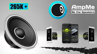 Play Same Music On Multiple Devices Using AMPME - Hindi
