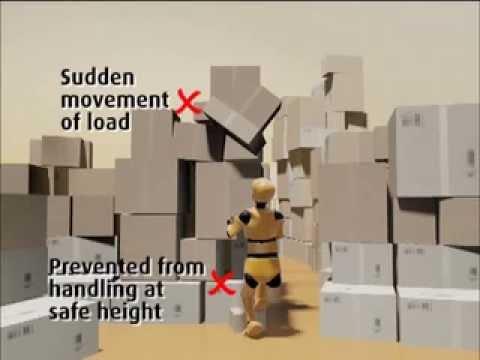 Manual Handling Risk Assessment - Case Study 4 - Warehouse Storage