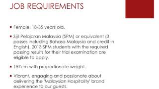 Malaysia Airlines Walk in Interview Jobs April 2014