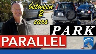 How to Easily Parallel Park between 2 Cars :: Step by Step Instruction