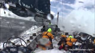 Video: Volvo Ocean 65s at Round Britain and Ireland Race - by Yachtfernsehen.com
