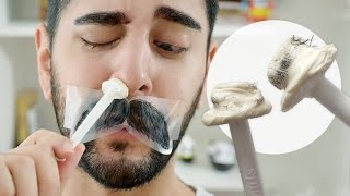 Nose Hair Waxing - Nads Nose Wax Product Review - Grooming Tips  ✖ James Welsh